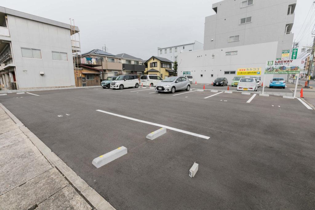 駐車場風景02