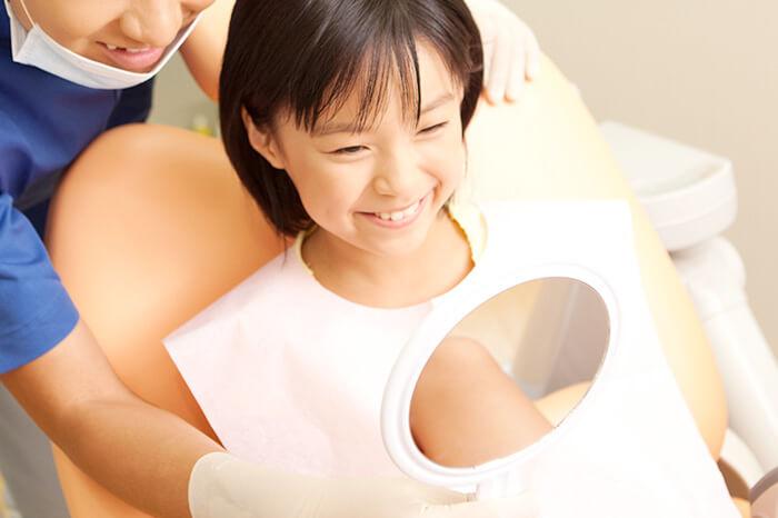お子さんの矯正治療が増えています